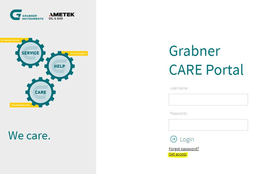 Technical Support Grabner Care
